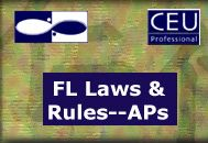 Florida Laws and Rules for Acupuncture Physicians <br>Online Continuing Education Course <br>(2 Florida CEUs/NCCAOM PDAs)